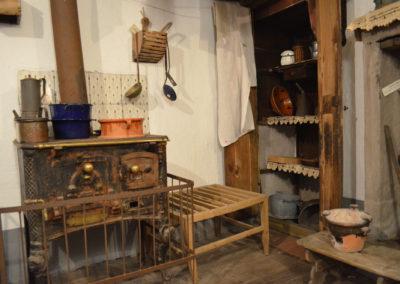 Casa Museo dell'Alta Valle Cervo - la cucina