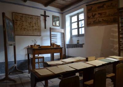 Casa Museo dell'Alta Valle Cervo - la scuola
