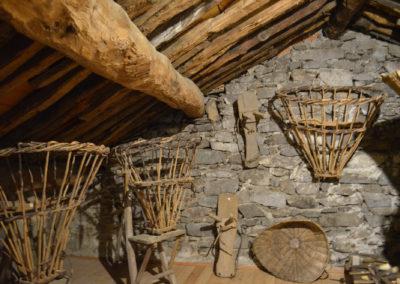 Casa Museo dell'Alta Valle Cervo - la soffitta